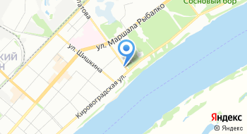 Отдел Военного Комиссариата Пермского края по Кировскому району на карте