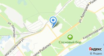 Краснокамский политехнический техникум, Пермский филиал на карте