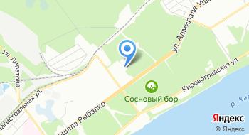 ДЮСШОР Кировского района на карте