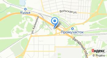Автосервис Правый берег на карте