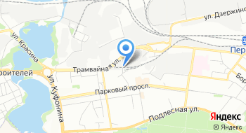 Пермоптторг на карте