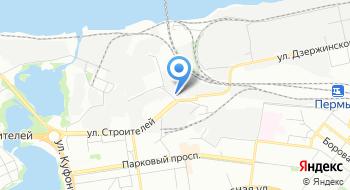 Пермское предприятие магистральных электрических сетей на карте