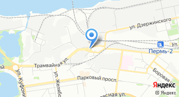 Лебедка центр Пермь на карте