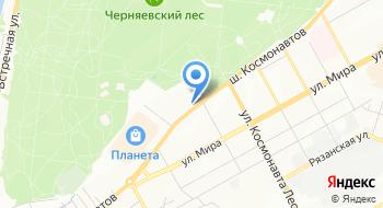 Гостиница Сухарева на карте