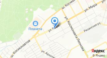 Декарт на карте