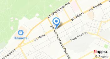 Аллада на карте