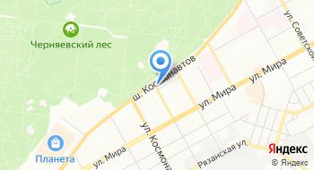 Пермский миграционный центр на карте