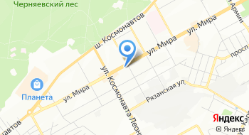 Электрошоки в г. Перми на карте