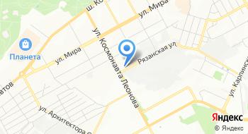 АвтоГиро Руссланд Пермь на карте