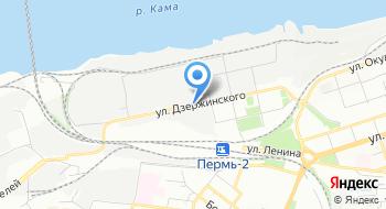 Военка-Пермь на карте