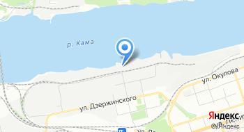 Пермский Мукомольный завод на карте