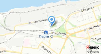 Ботанический сад ПГНИУ на карте