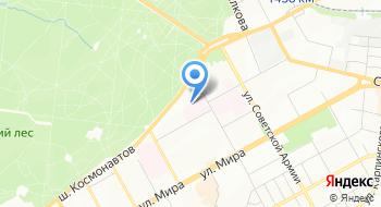 Медико-генетическая консультация Пермской краевой детской клинической больницы на карте