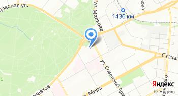 Танцевальный лагерь Заводной апельсин на карте