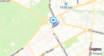 Отделение почтовой связи Пермь 614066 на карте