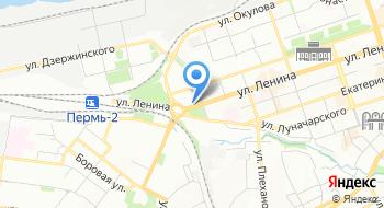 Отдел гражданской защиты Дзержинского района г. Перми на карте