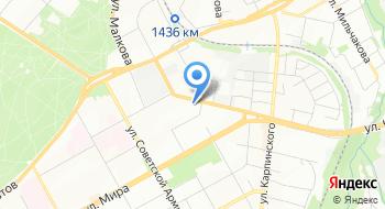 Отдел военного комиссариата Пермского края по Индустриальному и Дзержинскому районам города Пермь на карте