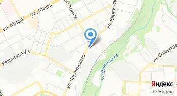 Станция Триумф на карте