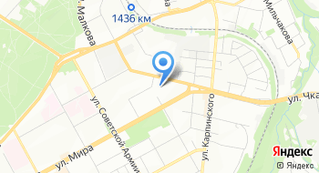 Ветеринарная клиника Зооветсервис на карте