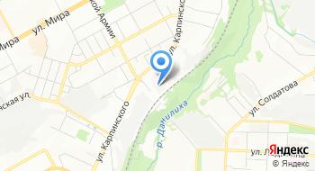 Жилищно-коммунальное управление ГУФСИН России по Пермскому краю на карте