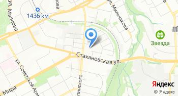 Мебельная фабрика Крон на карте