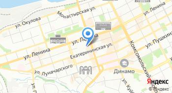 Оценка-Пермь на карте
