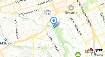 Ростехнадзор, Западно-Уральское управление на карте