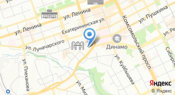 Магазин продукты на карте