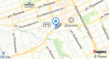 Central Hostel Perm, хостел на карте