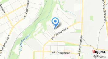 Мастерфайбр-Пермь на карте