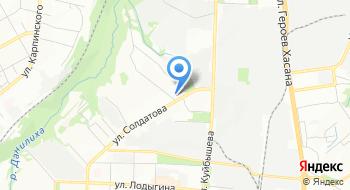 ПГМУП ГКТХ, аварийная на карте