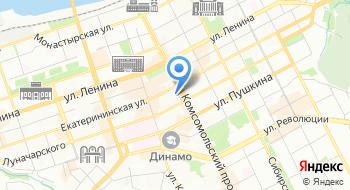 ПНИПУ, кафедра иностранных языков на карте