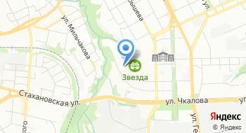 Арес на карте