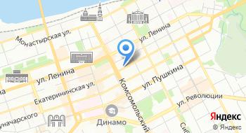 Пермское авиапредприятие на карте