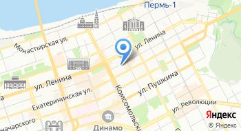 Выставочный центр Пермская галерея авторской куклы на карте