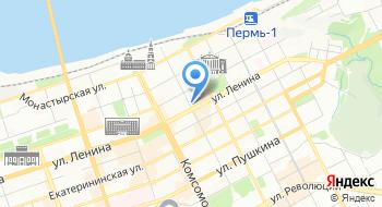 Школа хореографического искусства Пермского государственного института культуры на карте