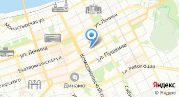 Пермский визовый центр на карте