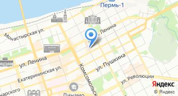 Инстапринтер в Перми на карте