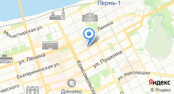 Инспекция Государственного Жилищного Надзора Пермского края на карте