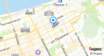 Кама на карте