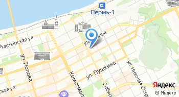 Пермский Музыкальный театр Бенефис на карте