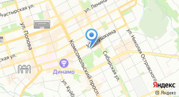 Компания СВ на карте