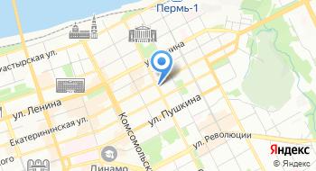 Департамент имущественных отношений Администрации города Перми на карте