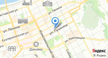 Гимназия им С.П. Дягилева на карте