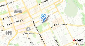 Индент на карте