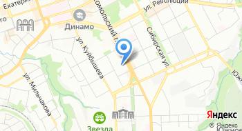 Институт повышения квалификации на карте
