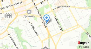 Studio на карте