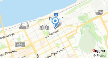 Пермский краевой госпиталь для ветеранов войны на карте