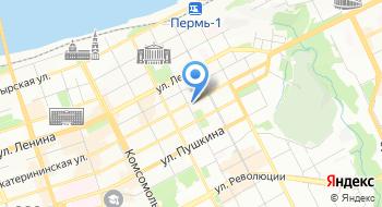 Пермское региональное отделение партии Яблоко на карте
