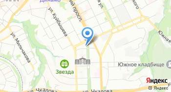 Управление ПФР в Свердловском районе на карте